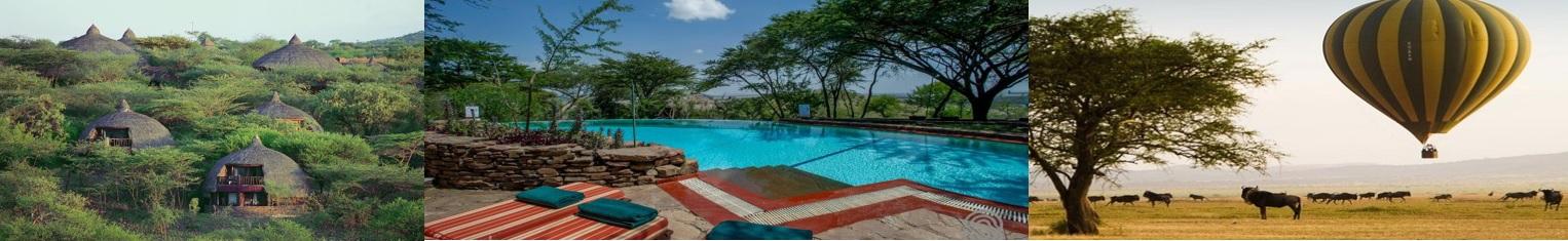 All meals and overnight at Serengeti Serena Safari Lodge1