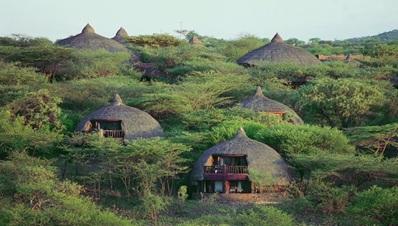 Dinner and Overnight at Serengeti Serena Safari Lodge